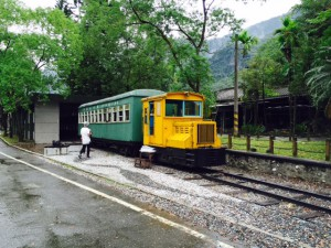 林田山電車