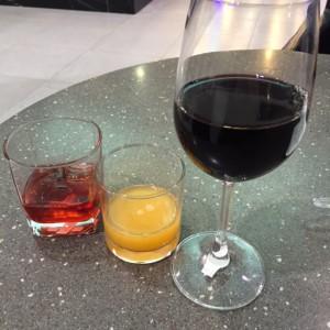 空港バー飲み物