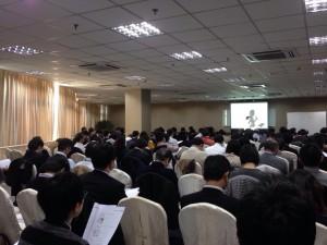 1月23日の講演会(上海)
