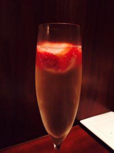 苺シャンパン