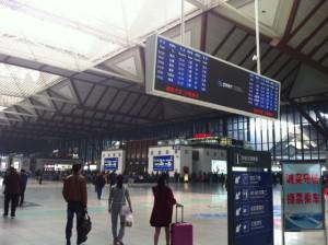 朝の蘇州駅