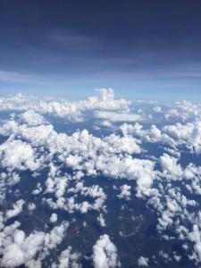 空からホーチミンを眺める。