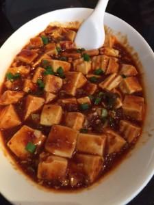 昼麻婆豆腐