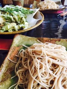山菜蕎麦 - コピー