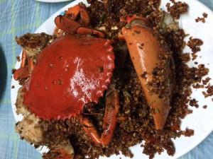 ニンニク蟹