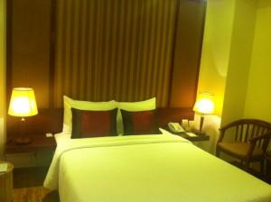 パラゴンサイゴンホテルの部屋。