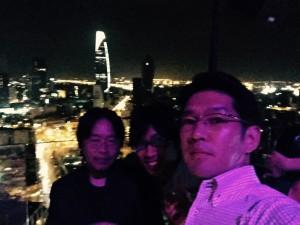 岩田さんのカメラで自撮り。