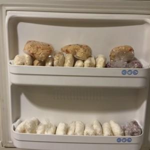 ごはん冷凍たくさん
