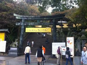 金毘羅様をお参りできたのはありがたかった。約800段の階段上りは少々疲れたが。
