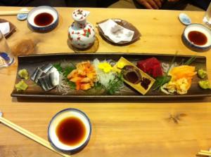 寿司屋刺身