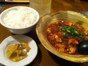 麻婆豆腐 - コピー