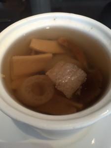 昼きのこスープ