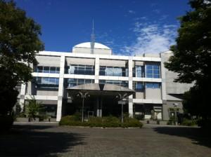 講演会場の神奈川県産業技術センター。