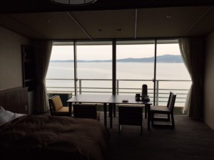 ホテルの部屋