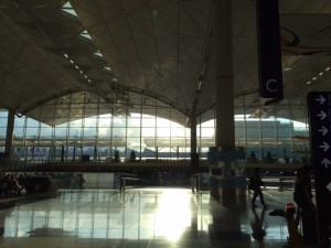 香港空港朝6時半